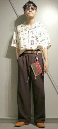 古着系メンズファッション
